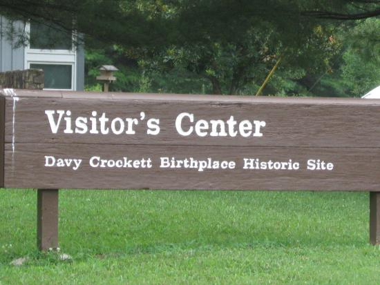 Entrance Sign To Visitor 39 S Center Picture Of David