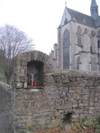 Odenthal, Alemania: Altenberger Dom view from parking area