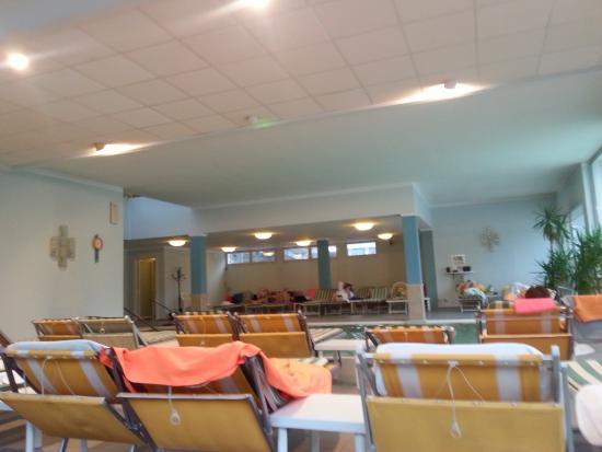Hotel Terme Villa Pace: Interno zona termale