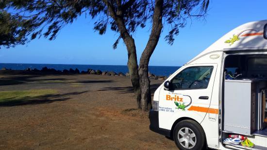 Bargara, Australien: Camping spot