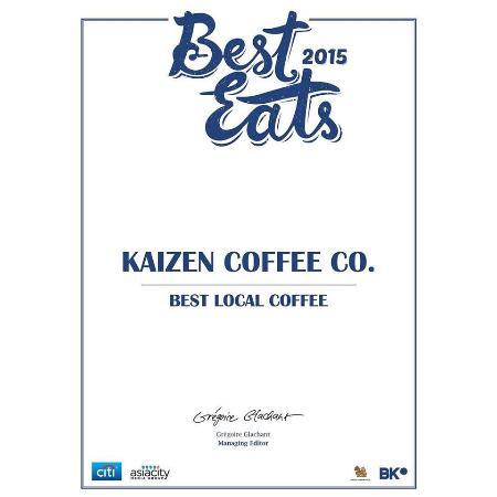 Kaizen Coffee Co. Bangkok: reward