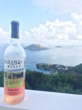 Took this bottle to St Barths. Thought we'd show the French how Baraboo does wine