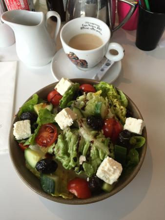 Harvey Nichols Forth Floor Restaurant: Greek salad