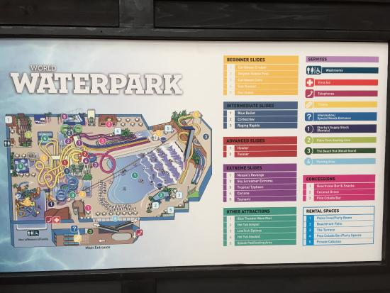 Park map picture of world waterpark edmonton tripadvisor world waterpark park map gumiabroncs Gallery