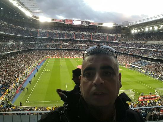 Estadio santiago bernabeu for Estadio bernabeu puerta 0