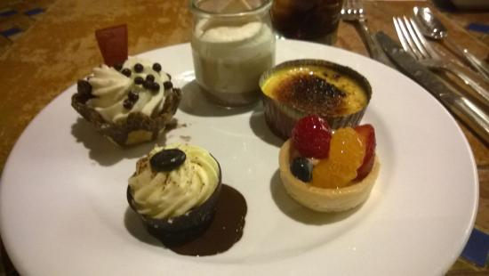 The Buffet at Bellagio: To sweet desserts