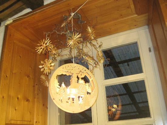 Odenthal, Alemania: Christmas decor at the Cafe