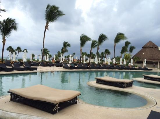 Secrets Maroma Beach Riviera Cancun Rain Wind
