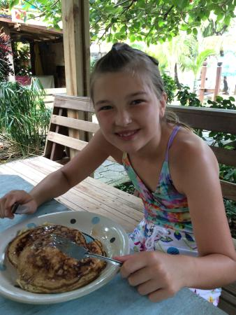 Hotel Chillies: banana pancakes