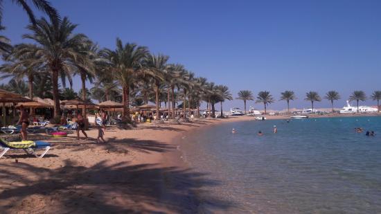 Movenpick Resort Hurghada пляж и чудесное море