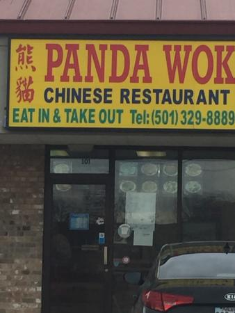 don 39 t judge a book by its cover picture of panda wok conway tripadvisor. Black Bedroom Furniture Sets. Home Design Ideas