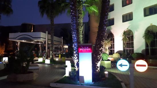 Mercure Alger Aeroport: Palmiers de la cour exterieure