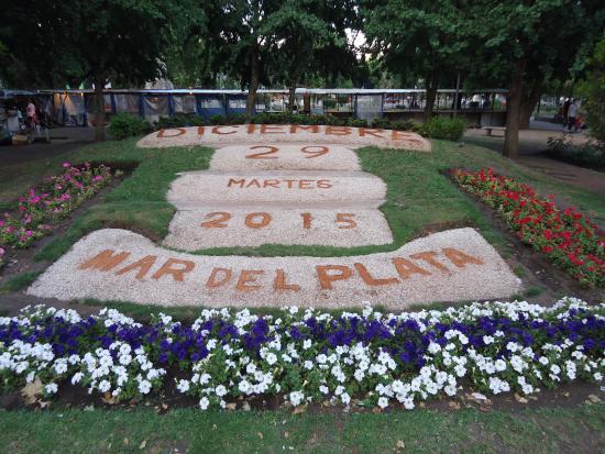 Plaza San Martin Mar del Plata