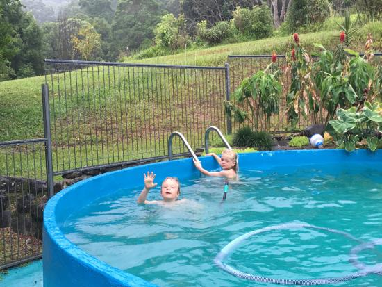 Nimbin, Australia: fun in the pool