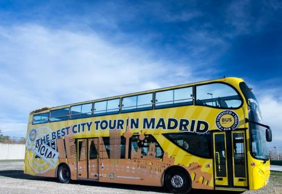 Madrid BusVision - The Yellow Tours