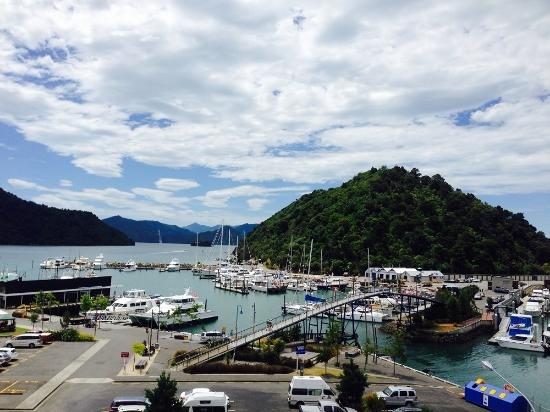 Picton Yacht Club Hotel: Picton Harbour