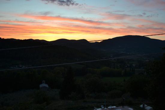 La Locanda del Tempo: Il tramonto