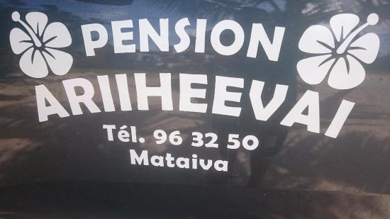 Tuamotu Takımadaları, Fransız Polinezyası: Pension ARIIHEEVA