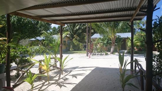 Tuamotu Takımadaları, Fransız Polinezyası: Vue salle à manger