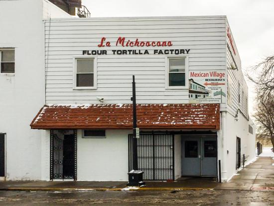 Mexicantown: Tortilla Factory - Where Else in the Midwest?