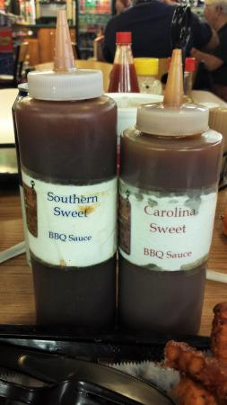 Pearl Country Store: BBQ sauces - yum!