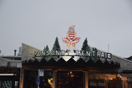 Ponsonby - restaurants and interesting shops