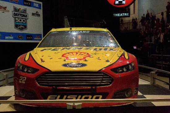 logano s winning car picture of daytona international speedway rh tripadvisor com au