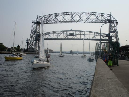 Canal Park: Aerial Lift Bridge