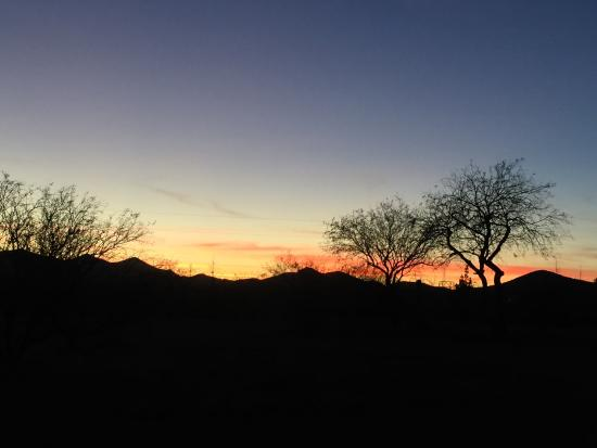 Arivaca, AZ: Amazing sunset!