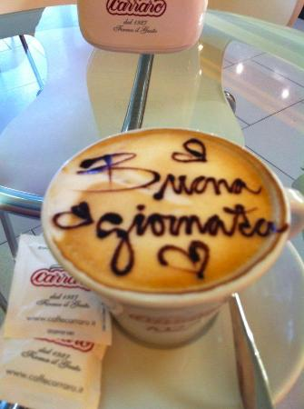 San Vito al Tagliamento, Italië: Cappuccino