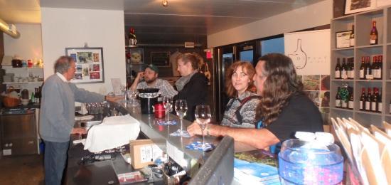 Jordan Station, Canada: Wine tasting with the Man