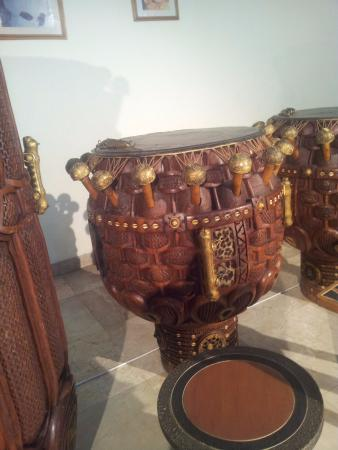 The National Theatre of Ghana : Traditional Artifact at the National Theatre, Accra