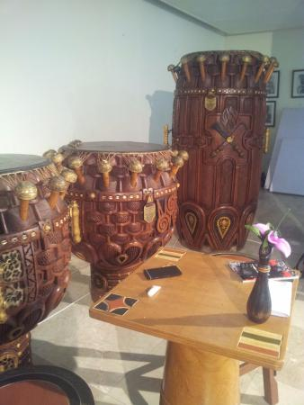 The National Theatre of Ghana : Traditional drums