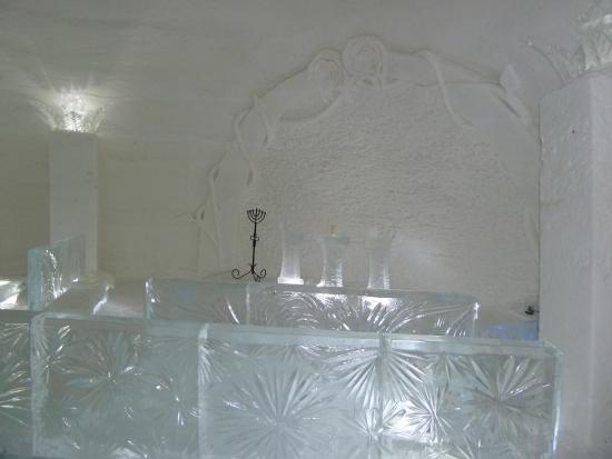 Snow Village: la chapelle