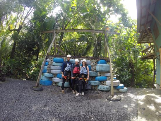 Extreme Dominica Canyoning & Adventure Tours: After training and ready to go!