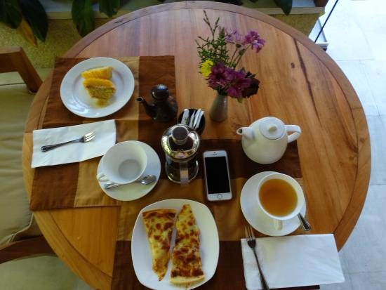 Villa Sabandari: chá da tarde