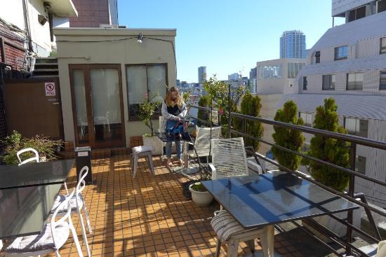 Hotel Edoya: Roof Terrace