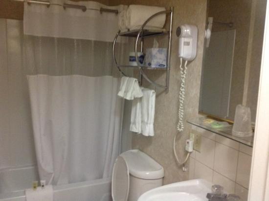 Milner Hotel: Banheiro