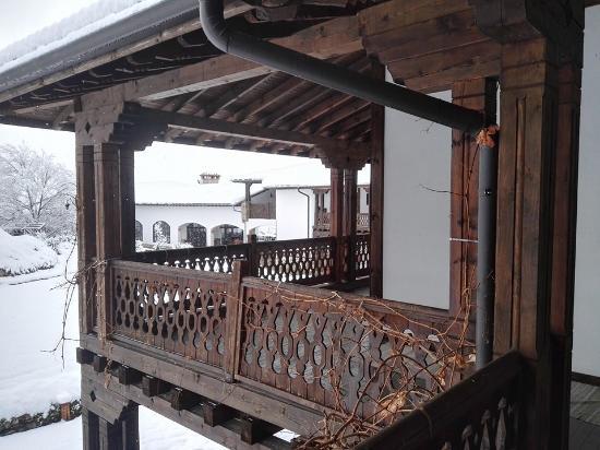 Hissarya, Bulgaria: courtyard