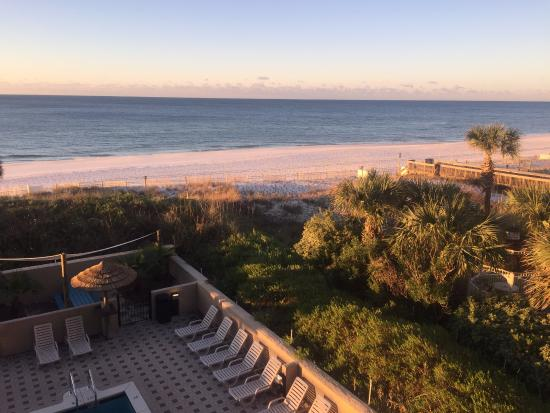 View From Partial Suite In Building B Picture Of Wyndham Garden Fort Walton Beach Destin Fort