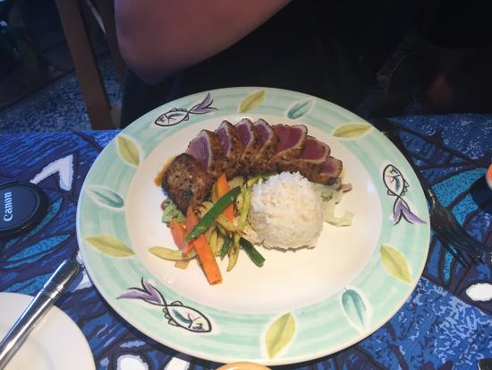 Paia, Hawaje: Seared Ahi