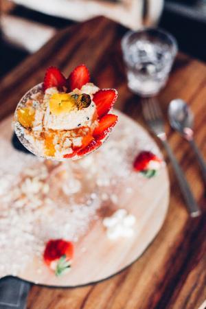Emerald, Australia: Deconstructed Passionfruit Cheesecake