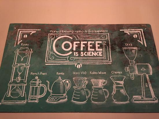 Highland Village, เท็กซัส: Science behind a good coffee cup!