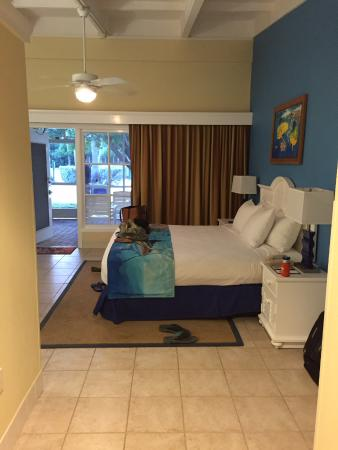 Islander Resort, a Guy Harvey Outpost: View of the king bed