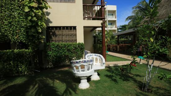 Hotel Posada Sian Ka'an: 椅子