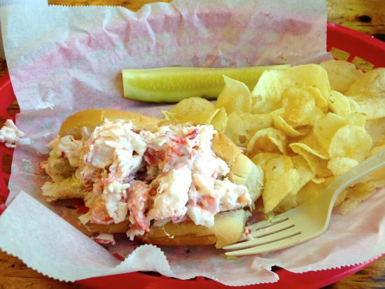 South Bristol, ME: Lobster roll