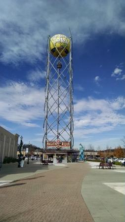 Branson Landing: tower