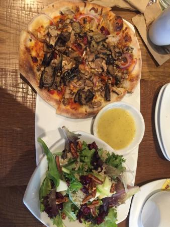 great lunch special salad pizza picture of california pizza rh tripadvisor com
