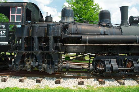 The Little River Railroad and Lumber Company Museum: Shay engine #2147