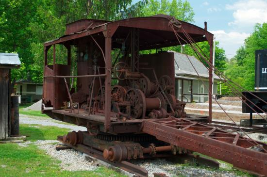 The Little River Railroad and Lumber Company Museum: Log loader.